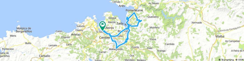 B2* Seixal - Miño - Feira do Tres - Campolongo - Betanzos - Crendes