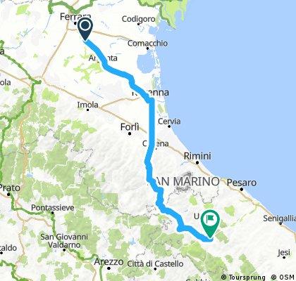 2018 - seconda tappa - La Sapienza - Aqualagna