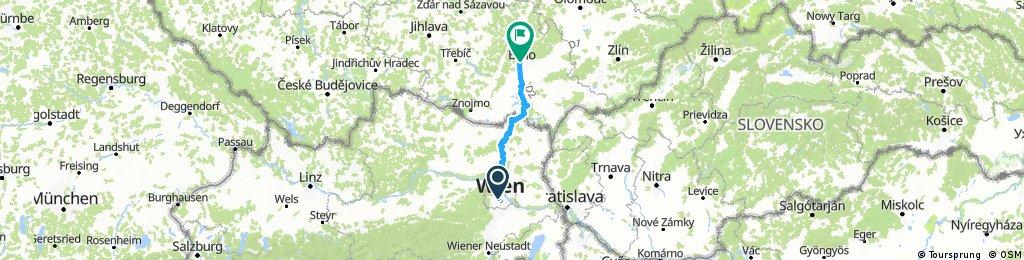 Wien - Brno (Brünn)