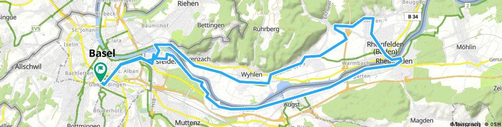20171018 Grenzach-Rheinfelden-Augst-Birsfelden