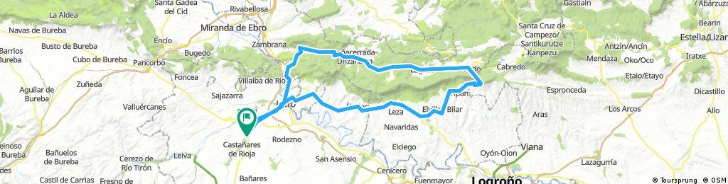 Camping- Labastida- Laguardia- Meano-Bernedo- Peñacerrada- Ocio- Haro- Camping