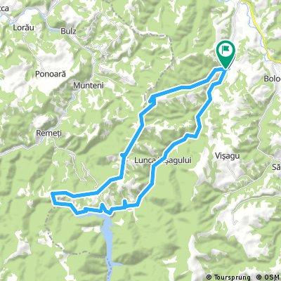 Valea Draganului crerasta-lac si inapoi scurt