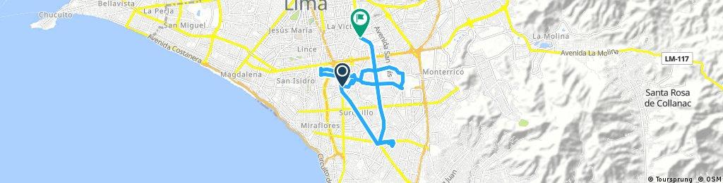bike tour through San Luis