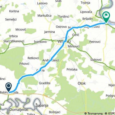 Biciklistička ruta Sava