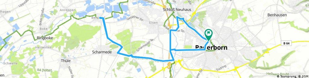Radrunde durch Paderborn
