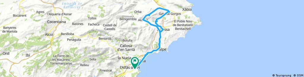 INTERIOR MARINA ALTA (ruta 2)