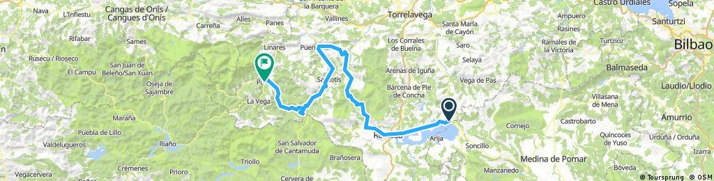 Corconte,Palombera, Piedrasluemgas Potes