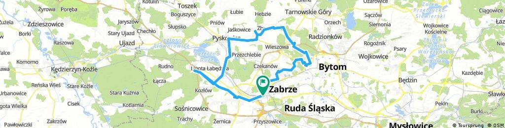 Long ride through Gliwice