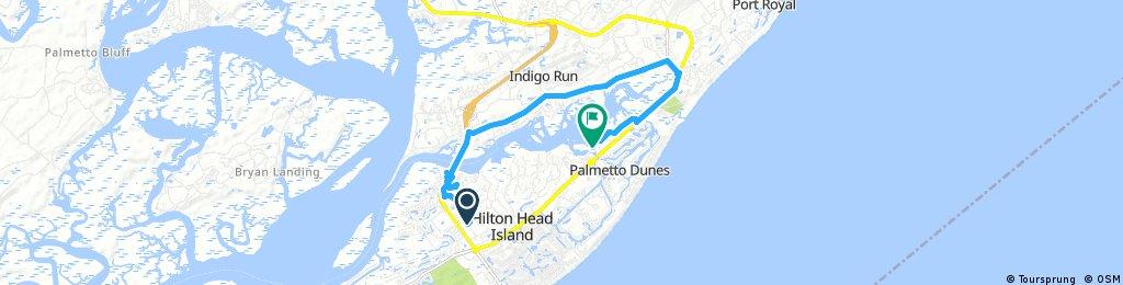 Hilton Head short path