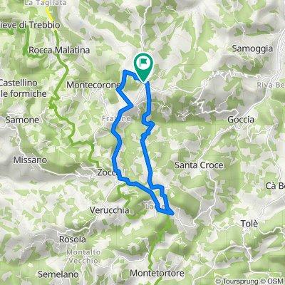 Monte Ombraro-Zocca-Monte Ombraro