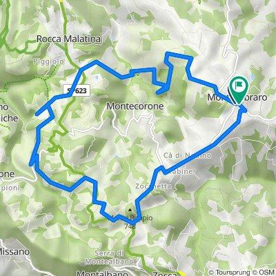 Monte Ombraro-Sasso di Sant'Andrea-Monte Ombraro