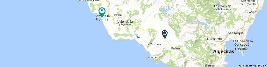 2017 - Spanien 4. Tag - Tahivilla - Conil