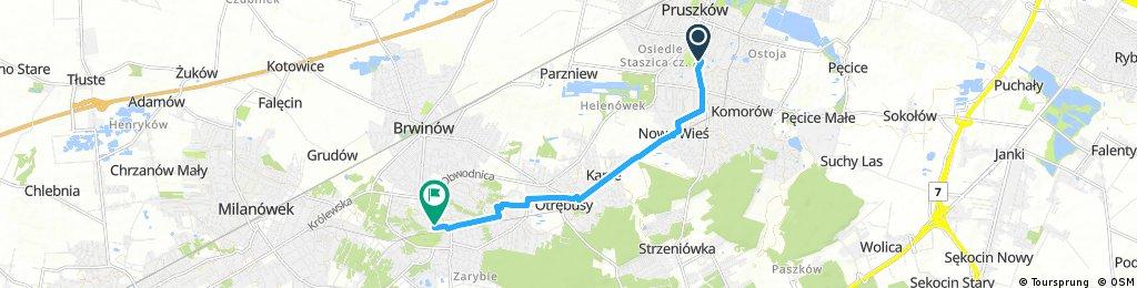 Quick bike tour through Podkowa Leśna
