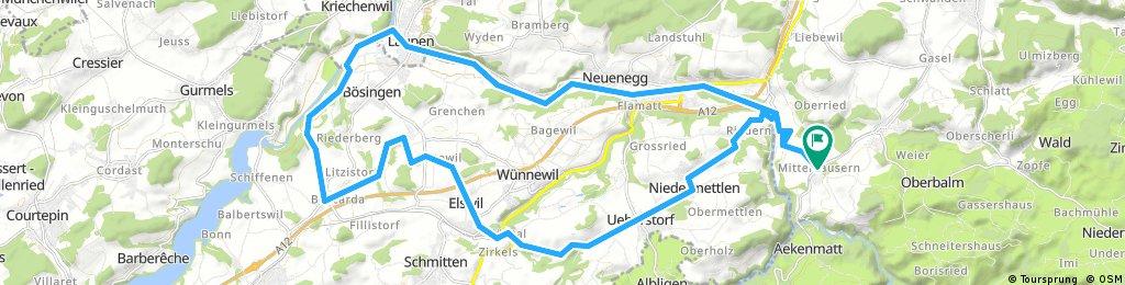 Sense-Laupen-Richterwil-Elswil-Ueberstorf-Thörishaus