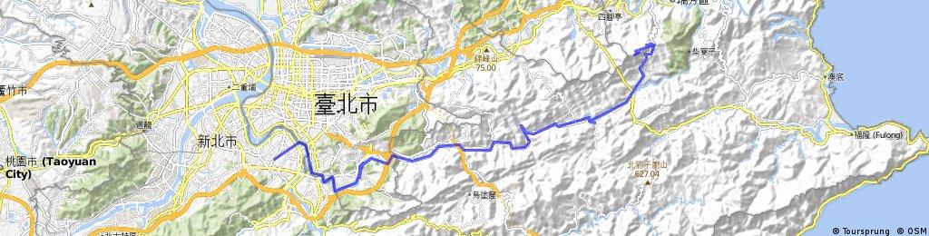 20100327晨騎路線