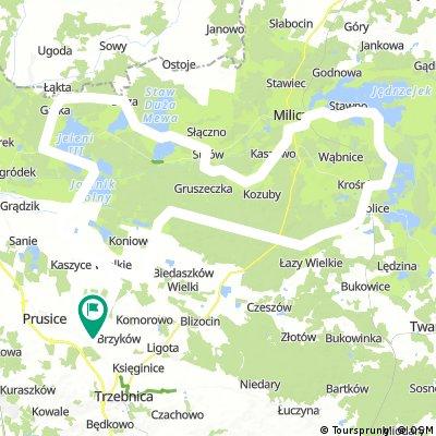 Pawłów Trzebnicki - trasa 2 - 111km