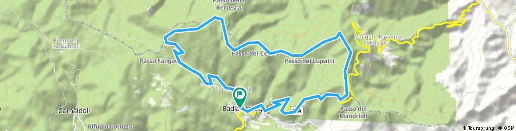 Badia Prataglia, Passo Lupatti, Passo dei Mandrioli