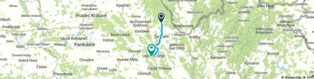 Rokytnice v Orlických horách - Žamberk - Ústí nad Orlicí
