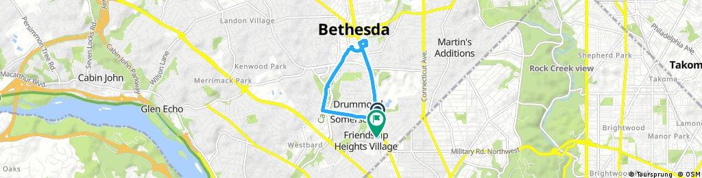 Quick ride through Friendship Village