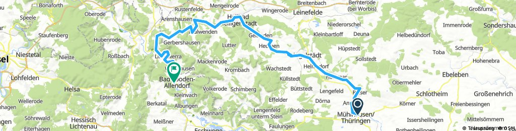 2017-10-14: Mühlhausen - Heiligenstadt - Bad Sooden