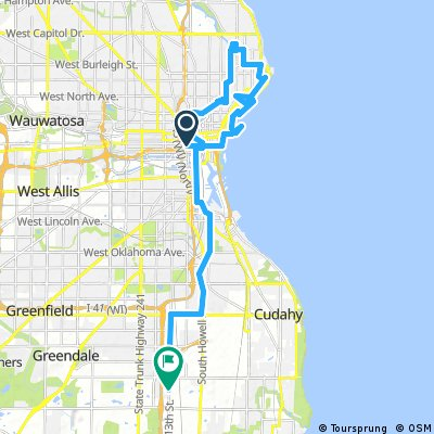 Milwaukee bike ride of Cesar's tears