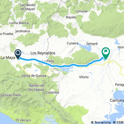 Etappe 3: ~La Maya → Guantanamo - Cuba Cycling XL