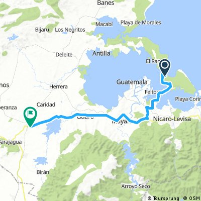 Etappe 6: Cayo Saetia → Cueto - Cuba Cycling XL