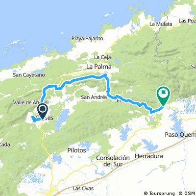 Etappe 12: Viñales → San Diego de los Baños  - Cuba Cycling XL