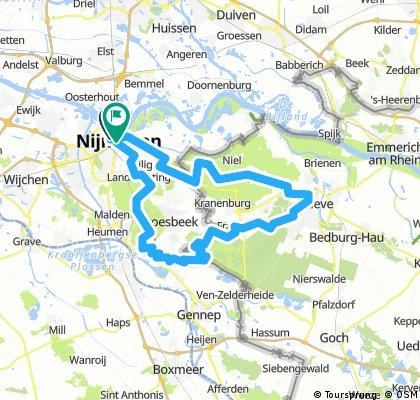 Nijmegen > Kleve (reverse)