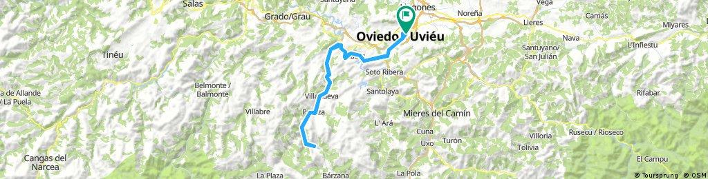 Oviedo - Trubia - Valdemurio