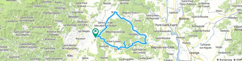 Château d'Allègre - Les Concluses - Vallée de La Cèze - Barjac