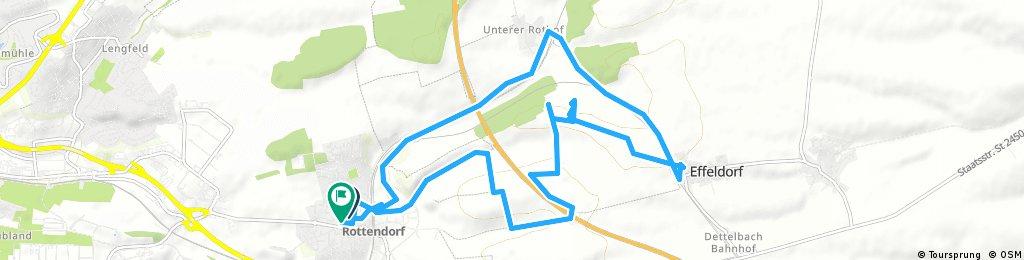 Radrunde durch Rottendorf