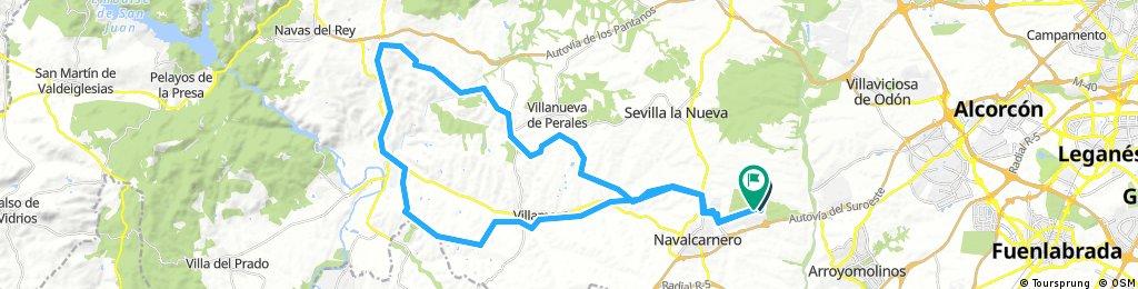 Lengthy ride through Navalcarnero