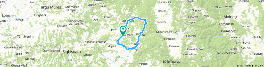 Lengthy bike tour from October 22, 8:42 AM