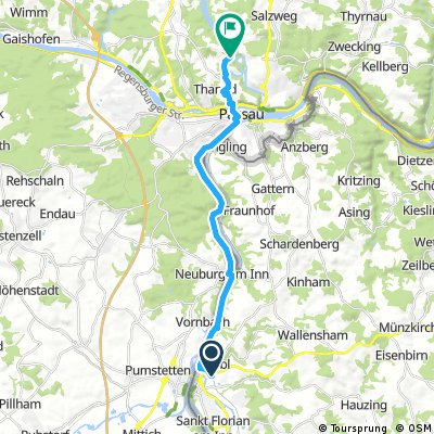 AT 8 Schärding - Passau Trifftsperre