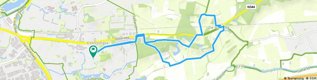 Wandelroute De Bannink 7.3km