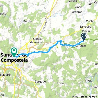 A Rúa - Santiago de Compostela