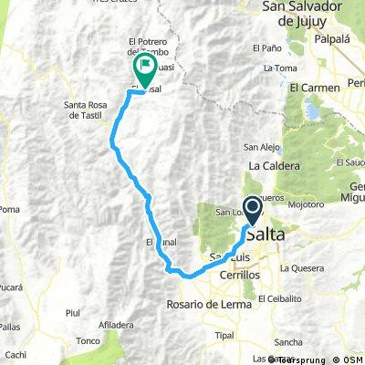 Salta - Fca. El Rosal (3341 msnm)