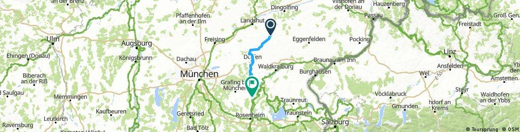 Long bike tour from 23 ottobre, 13:20