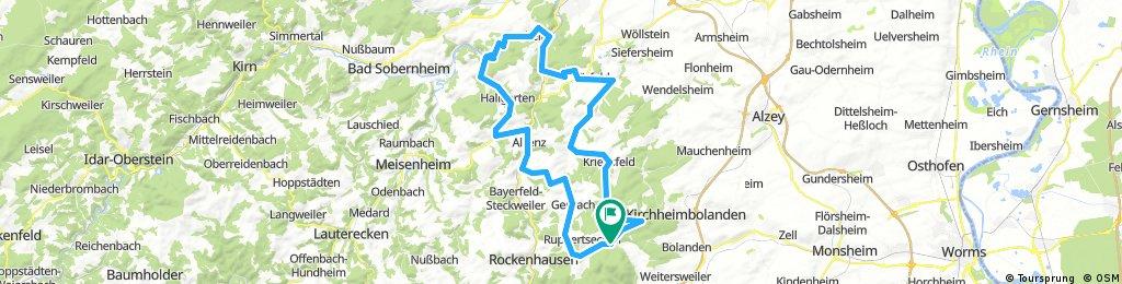 4-Tagefahrt Bastenhaus 2018 – Sonntag – Gruppe 1, 81 km, 1.130 HM