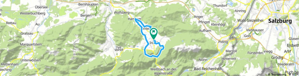 ride through Inzell