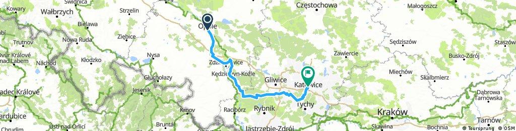 Opole - Katowice