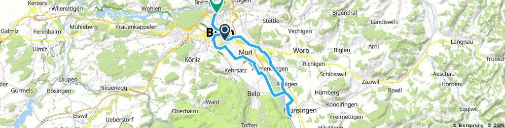Münsingen - YB Cupweg