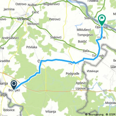 Poddionica biciklisticke rute Srijem
