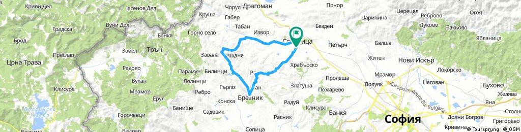 Long ride through Slivnitsa