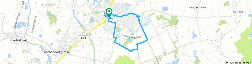 Tour 3: Papenburg Route 3 (rund um Papenburg)