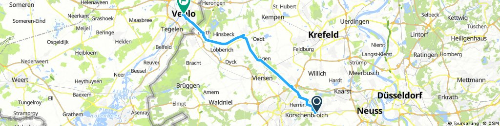 Kleinenbroich - Venlo
