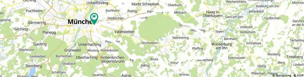 um den Ebersberger Forst