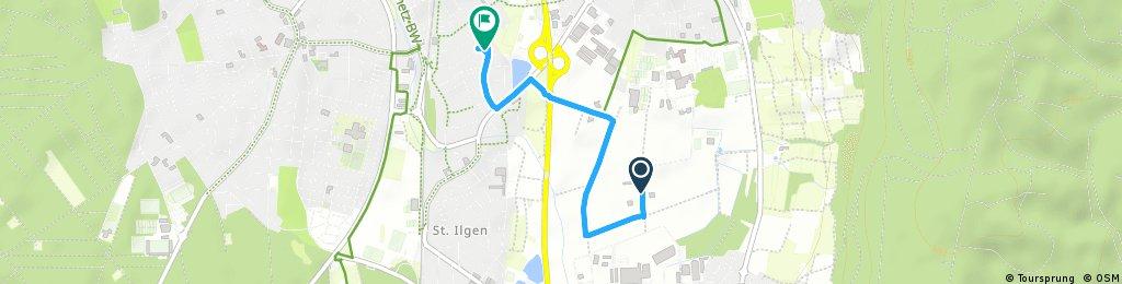 Quick ride through Leimen