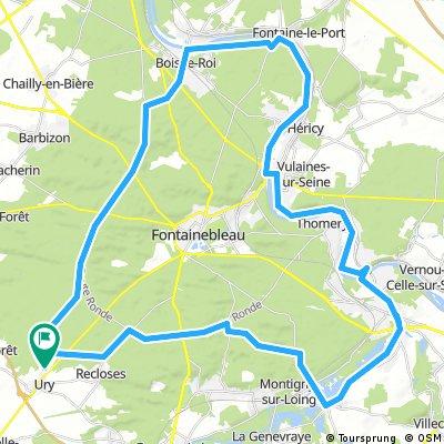 65 kmFontainebleau-ChartrettesFontainebleau